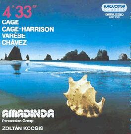 Cd Amadinda Percussion Group 4 33 Varese Chavez Cage