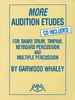 Whaley, Garwood: More Audition Etudes (Buch + CD)