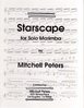 Peters, Mitchell: Starscape for Solo Marimba