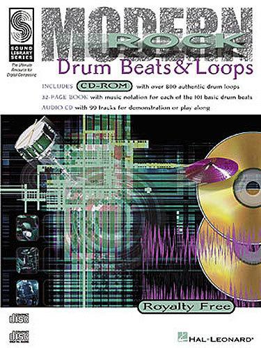 Schroedl, Scott: Drum Beats & Loops Modern Rock (Buch + CD)