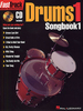 Fast Track Drums 1 Songbook (Book + CD)