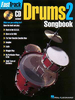 Fast Track Drums 2 Songbook (Book + CD)