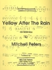 Peters, Mitchell: Yellow after the rain for Marimba