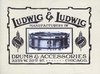 Ludwig: Ludwig 1912 Catalog Reproduction