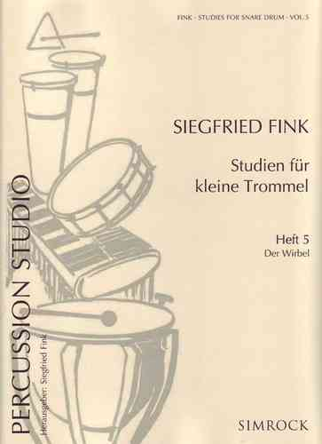 Fink, Siegfried: Studien Kl.Tr. 5 Wirbel - Brandt - Percussion-Noten ...