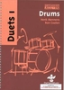 Mennens, Henk/Coolen: All-In Drums Duets 1 (Buch + CD)