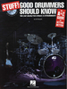 Roscetti, Ed: Stuff! Good Drummers Should Know (Book + CD)