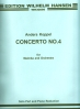 Koppel, Anders: Concerto No. 4 for Marimba & Piano (Orch.)