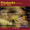 CD Playbacks für Drummer Vol. 5 Blues (Jörg Sieghart)