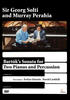 DVD Bartok, Bela: Sonata for 2 Pianos and 2 Percussion (Solti, Perahia, Glennie, Corkhill)