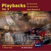CD Playbacks für Drummer Vol. 9 Jazz-Grooves 2 (S. Berker)