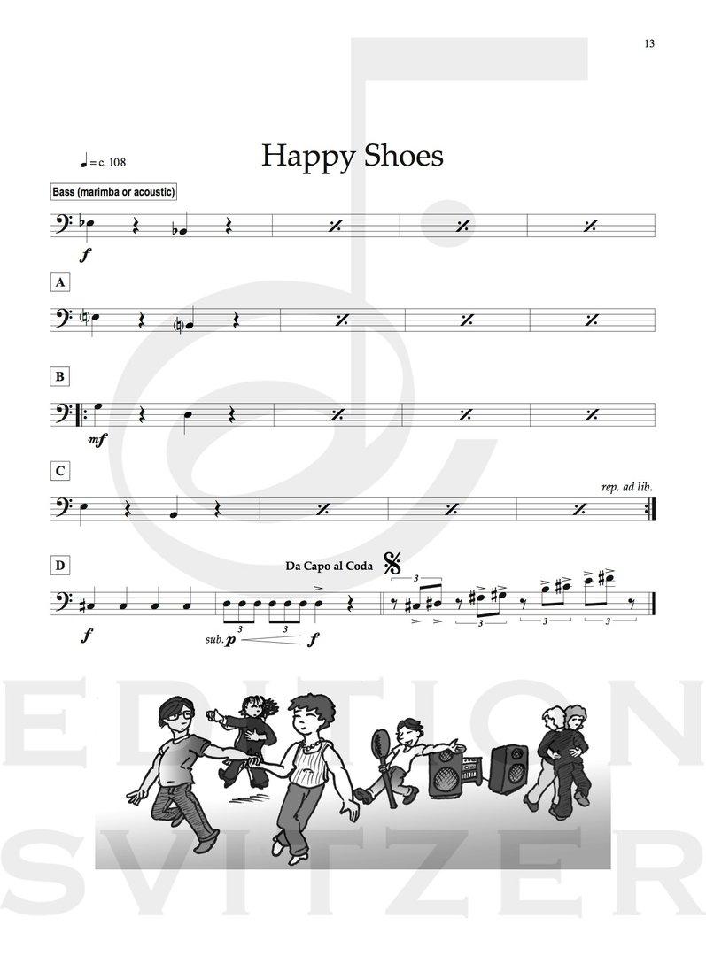 Berg, Daniel: Easy Duets Vol  1 - Brandt - Percussion-Noten