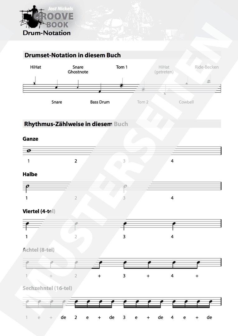 Nickel, Jost: Jost Nickels Groove Book (Book + CD) - Brandt