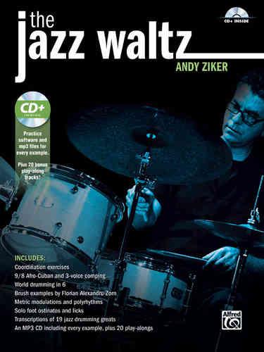 Ziker, Andy: The Jazz Waltz (Book + MP3-CD) - Brandt - Percussion