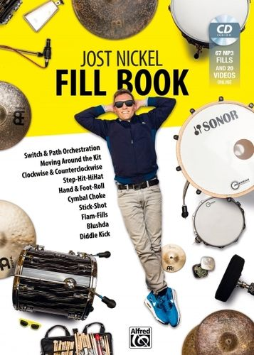 Nickel, Jost: Fill Book (Buch + MP3-CD)