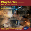CD Playbacks für Drummer Vol. 2 Easy Grooves (Martin Häne)