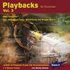 CD Playbacks für Drummer Vol. 3 Jazz Grooves 1(Stefan Berker)