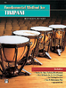 Peters, Mitchell: Fundamental Method for Timpani
