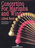 Reed, Alfred: Concertino for Marimba and Winds (Score only)