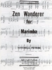 Peters, Mitchell: Zen Wanderer for Marimba