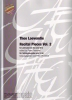 Loevendie, Theo: Recital Pieces Vol. 2 for  Percussion Ensemble