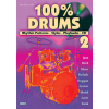 Kessler, Dietrich: 100% Drums Band 2 (Buch + CD)