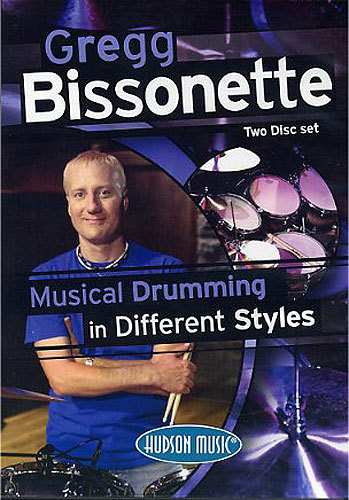 DVD Bissonette, Gregg: Musical Drumming in Different Styles